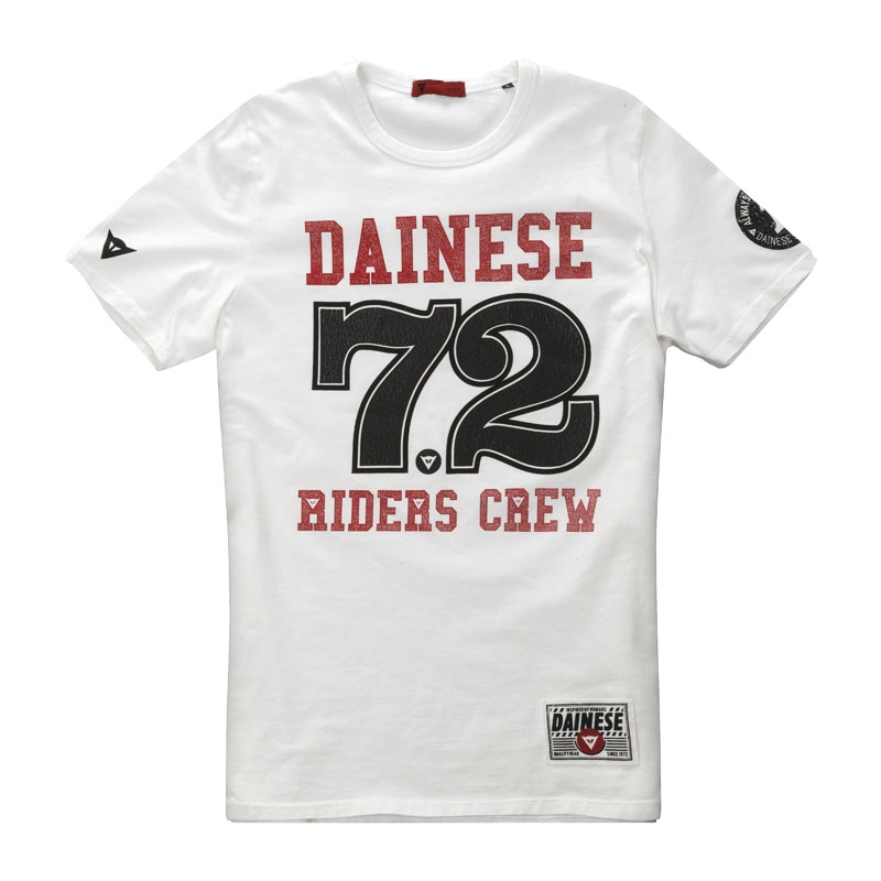 dainese riders crew t shirt dainese. Black Bedroom Furniture Sets. Home Design Ideas